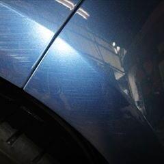 トヨタのアクア(DAA-NHP10):左フロントドア、左リアドア板金塗装 作業工賃115,000円/合計金額(税込)124,200円