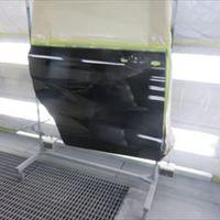 ホンダのフリードハイブリッド(DAA-GB7):右スライドドア、右ロッカーパネル修理塗装 作業工賃110,000円/合計金額(税込)118,800円