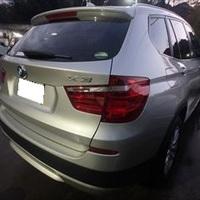 BMWのX3(LDA-WY20):リア 修理、塗装