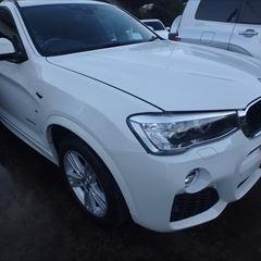 BMWのX3(LDA-WY20):フロントバンパー修理、塗装 作業工賃70,000円/合計金額(税込)75,600円