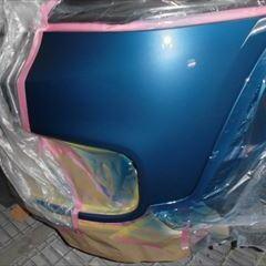 ミニクロスオーバー(CLA-YU15):傷の修理方法と費用 フロントバンパー修理、塗装 作業工賃50,000円/合計金額(税込)54,000円