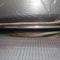 フィアットの500(ABA-31209):左サイドスポイラー修理、塗装 作業工賃40,000円/合計金額(税込)43,200円