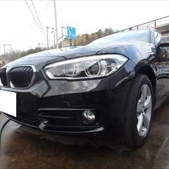 BMWの1シリーズ(DBA-1R15):フロントバンパー修理、塗装 作業工賃50,000円/合計金額(税込)54,000円