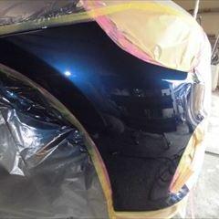 BMWの2シリーズ(DBA-2A15):フロントバンパー修理、塗装 作業工賃48,000円/合計金額(税込)51,840円