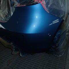 メルセデスベンツのAクラス(DBA-176042):リアバンパー修理、塗装 作業工賃70,000円/合計金額(税込)75,600円