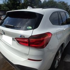 BMWのX1(LDA-HT20):バンパーロア他の交換 部品代金33,200円/右クォーターパネル修理、リアバンパー脱着分解、塗装、他 作業工賃218,000円/合計金額(税込)276,320円