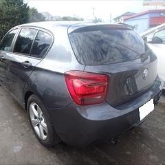 BMWの1シリーズ(DBA-1A16):左テールランプ交換 部品代金41,900円/左クォーターパネル板金、リアバンパー他の脱着、修理、塗装 作業工賃170,200円/合計金額(税込)229,068円