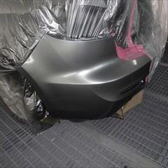 マツダのアクセラ(DBA-BLFFP):フロントバンパー、リアバンパー修理、塗装 作業工賃50,000円/合計金額(税込)55,000円