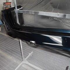 トヨタのヴォクシー(DBA-ZRR80W):リアゲート板金塗装、リアバンパー修理、塗装 作業工賃180,000円/合計金額(税込)198,000円