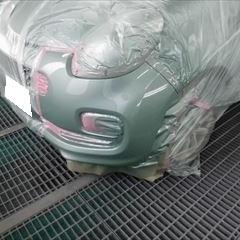 トヨタのパッソ(DBA-KGC30):前後バンパー板金塗装 作業工賃50,000円/合計金額(税込)55,000円