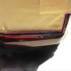 トヨタのスペイド(DBA-NCP141):フロントバンパー修理、塗装 作業工賃38,000円/合計金額(税込)41,800円