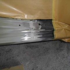 日産のモコ(DBA-MG33S):傷の修理方法と費用 右リアドア、右リアサイドアウタリアパネル、右リアホイール他の交換、右フロントドア他の板金、塗装など