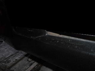 NV100クリッパーフロントバンパーの傷