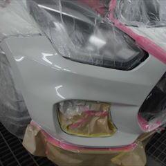 スズキのスイフトスポーツ(CBA-ZC33S):フロントバンパー修理、塗装、他 合計金額(税込)69,784円