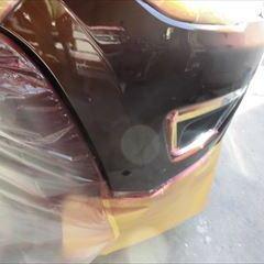 クライスラージープのジープコンパス(ABA-M624):フロントバンパー修理、塗装 作業工賃80,000円/合計金額(税込)86,400円