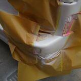 メルセデスベンツ 傷の修理方法と費用 リアバンパー修理・塗装 作業工賃80,000円